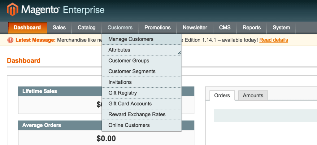 HOW TO SUCCESSFULLY MEASURE YOUR ECOMMERCE WEBSITE - Magento Dashboard