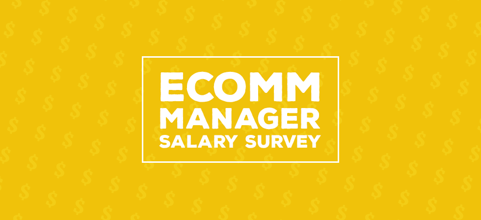 ecommerce manager salary survey