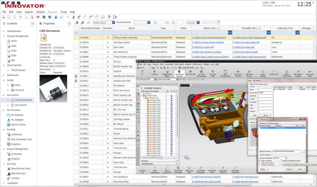 Aras PLM - PLM Software - screenshot