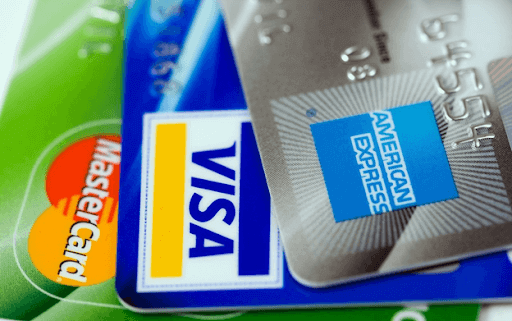 image of credit cards with PCI DSS standards