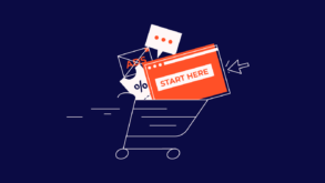 items in a cart for Easiest Ecommerce Platforms