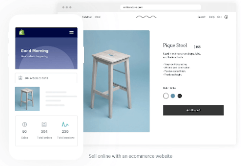 Shopify Screenshot For Headless Ecommerce Platforms