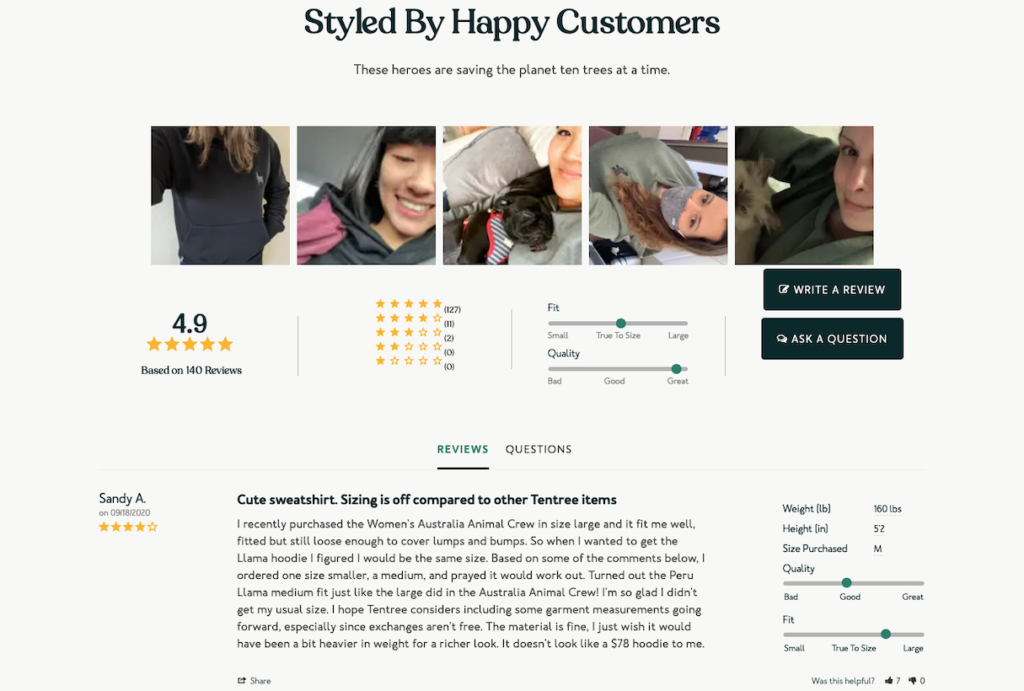 Styled By Happy Customers Screenshot
