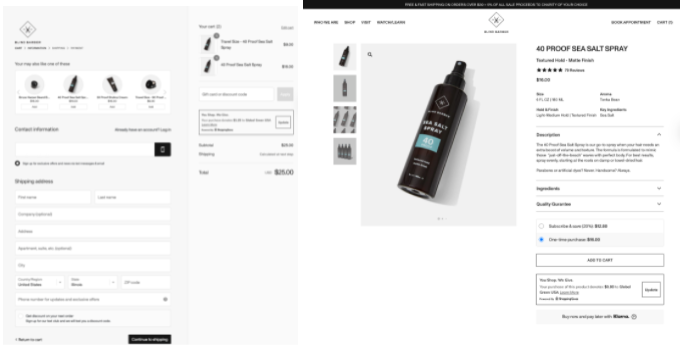 Shopping Gives Sustainable Ecommerce Site Screenshot